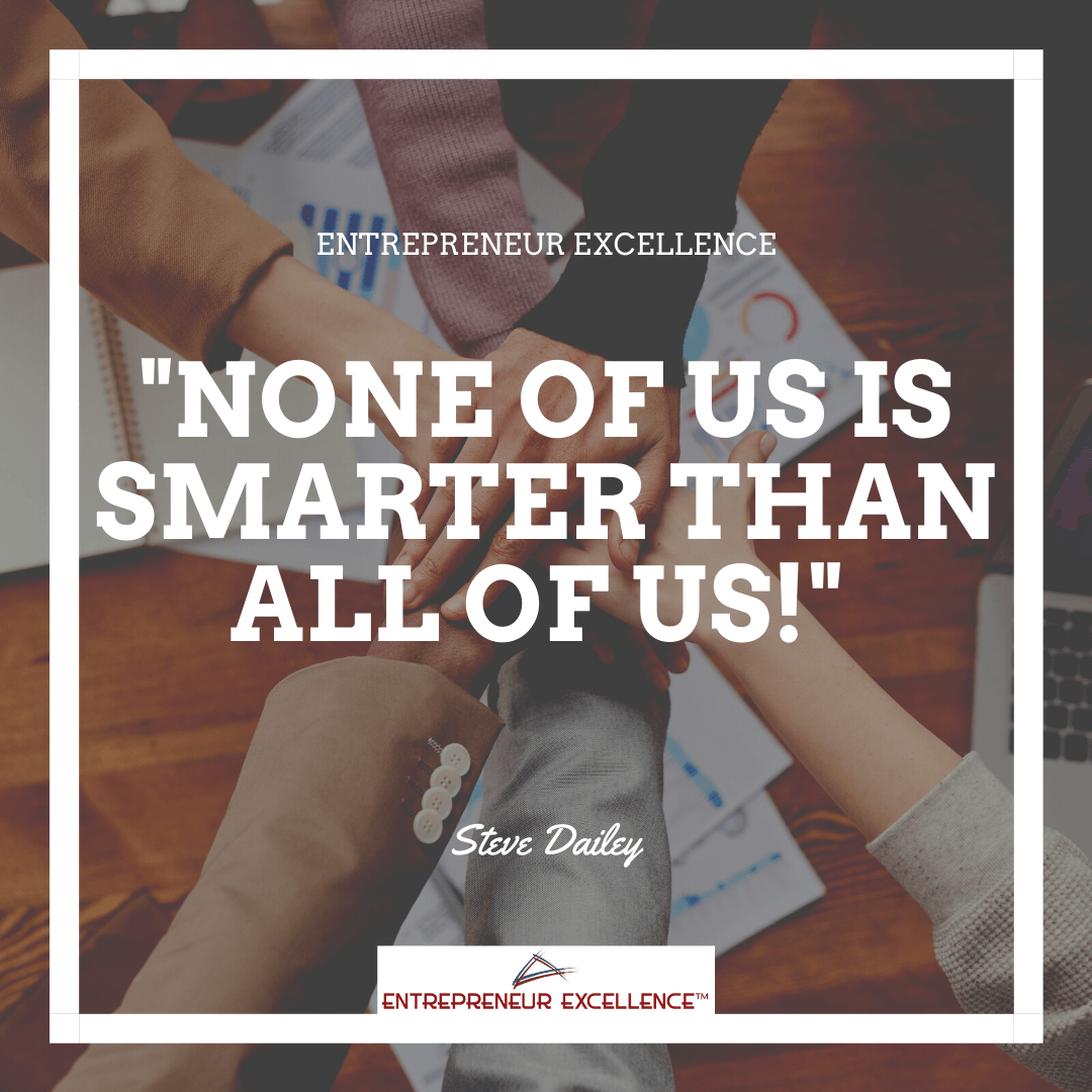 Noe of us is smarter than all of us