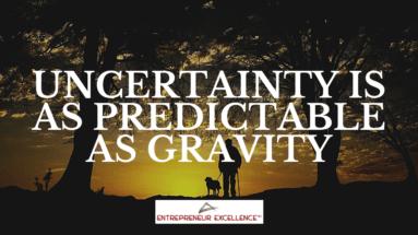 Uncertainty quote